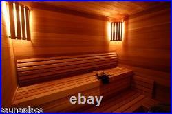 Cedro Precut Sauna Kit 5'x6'x7', the sauna place, precut saunas, saunas