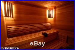 Cedro Precut Sauna Kit 6'x9'x7', the sauna place, precut saunas, saunas