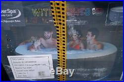 Cleverspa Monte Carlo hot tub Spa (large 4-6 person model) with starter kit