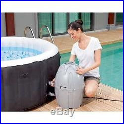 Coleman 71 x 26 Portable Inflatable Spa 4-Person Hot Tub Black (Open Box)
