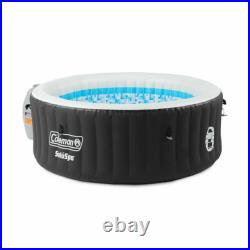 Coleman Lay-Z-Spa 71x26 Inflatable Hot Tub Black NEW