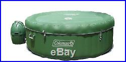 Coleman Lay-Z-Spa 77 x 28 Inflatable Spa Portable 4-Person Hot Tub- Open Box