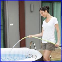 Coleman SaluSpa 4 Person Inflatable Outdoor Spa Hot Tub + 2 Slip Resistant Seats