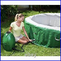 Coleman SaluSpa 6 Person Inflatable Outdoor Spa Bubble Massage Hot Tub