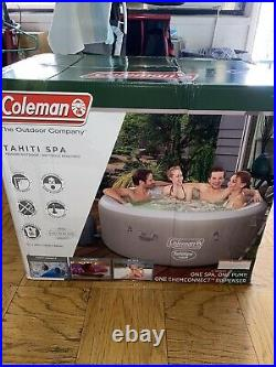 Coleman SaluSpa 71 x 26 Tahiti AirJet Inflatable Hot Tub 2-4 Person Spa 90427E