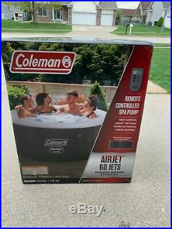 Coleman SaluSpa Havana 2-4 person Inflatable Outdoor Hot Tub Spa 71 x 26