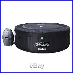 Coleman SaluSpa Inflatable Hot Tub + Bestway Spa Cleaning Set + Drink/Snack Tray