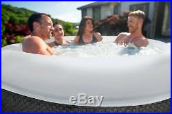 Coleman SaluSpa Inflatable Hot Tub Cali AirJet 120 Jets 4 Person 71 x 26