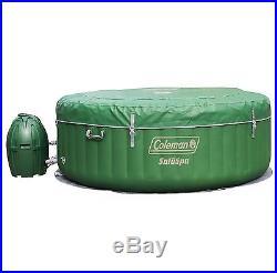 Coleman SaluSpa Lay-Z-Massage 77x28 Inch 6-Person Inflatable Spa Hot Tub, 90363E