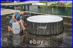 Coleman Saluspa 71 x 26 Havana Airjet Inflatable Hot Tub Spa 4-Person Jacuzzi