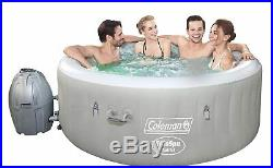 Coleman Saluspa 71 x 26 Tahiti Airjet Inflatable Hot Tub Spa 4-Person Jacuzzi