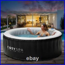 CosySpa aufblasbar Whirlpool Outdoor/Indoor Spa 4/6 Personen, Luftdüsen