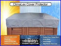 Custom Hot Tub Spa Cover Protector Durable, Energy-Saving Design 100% Waterproof