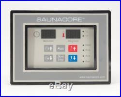 Digital Sauna Controller Timer with Aux Controls -220 VAC