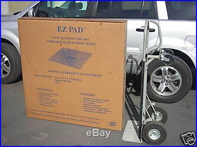 EZ PAD SPA / HOT TUB PAD 4 PCS 8'X8' LIFETIME GUARANTEE