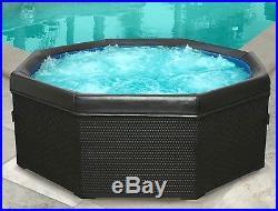 GORGEOUS new Bali portable hot tub wicker spa mspa spanabox