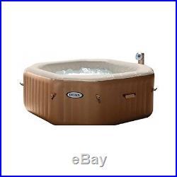 Garden Hot Tub Spa Inflatable Portable 4 Person Heated Relaxes Outdoor Patio