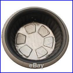 HOT TUB INFLATABLE 6 PERSON OUTDOOR EASY ASSEMBLY BEVERAGE BUBBLE JET SPA NEW