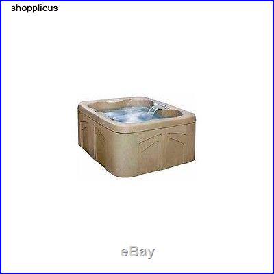 HOT TUB SPA JACUZZI 4- Person 12 Jets Outdoor Patio Garden Plug n Play DISCOUNT