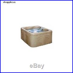 HOT TUB SPA JACUZZI 4- Person 12 Jets Outdoor Patio Garden Relax Home Portable