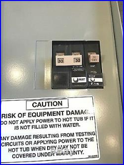 Hot Spring & Tiger River Convertible 50 Amp GFCI Sub Panel PN 301756