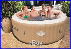 Hot Tub 6-Person Portable Lay-Z-Spa Palm Springs Bubble Massage Heated Pool New