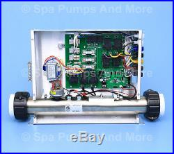 Hot Tub Heater Control Spa Controller Pack C5 United CBT7 & 6 cords SPECIAL! New