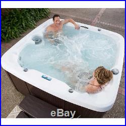 Hot Tub Inflatable Portable Spa 6 Person Bubble Massage Jacuzzi Outdoor Pool New