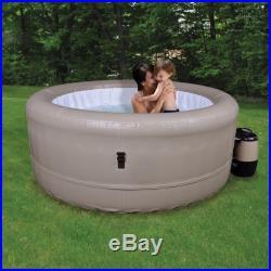 Hot Tub Spa Outdoor Patio Garden Bath Heated 4 Person Portable Yard Jacuzzi New