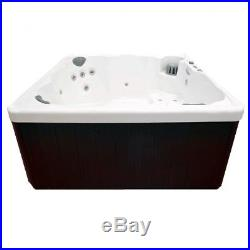 Hot Tub Spa Outside Inside Relaxing Pool Water Jets 6 Person Rehabilitation
