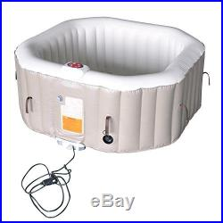 Hot Tub Spa Person Portable Inflatable Bubble Massage Heated Jacuzzi New Jet