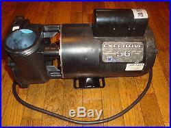 Hot Tub Spa Pump & Motor A. O. Smith 4 HP Executive 56- Rebuilt 2 Speed