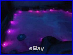 Hot Tub with lounger, multi led