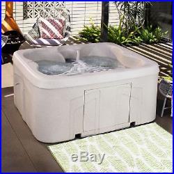 Hot tub, spa, jacuzzi, bubble bath, massage, 4 person, jets, relaxation, led