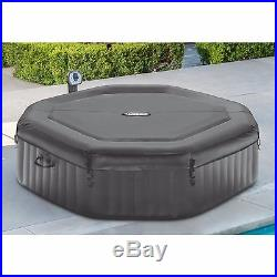 Inflatable HOT TUB SPA Intex 6 Person Portable Jacuzzi Heated Bubble Massage