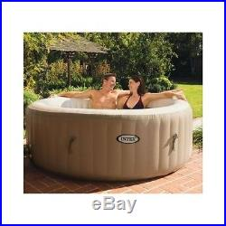 Inflatable Heated Hot Tub Portable Spa Massage Bubble Jets Jacuzzi Pool Outdoor