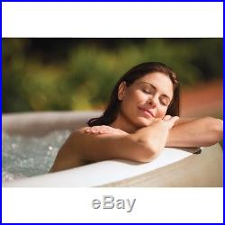 Inflatable Hot Massage Tub Spa Jacuzzi Bubbles Heated 4 Person Portable Pool NEW