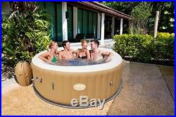 Inflatable Hot Tub 4-6 Person Round Massage Spa Water Filter Indoor Outdoor New