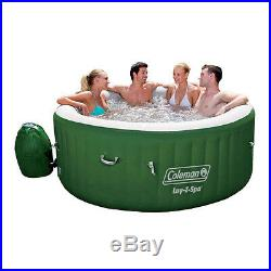 Inflatable Hot Tub Coleman Spa Jetted Tubs 4 to 6 Person Portable
