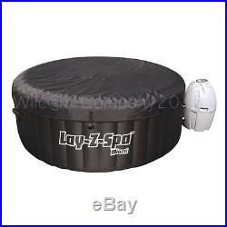 Inflatable Hot Tub Portable Above Ground Jacuzzi Spa With Heater Pump And Cover