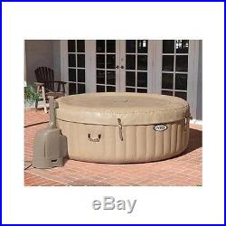 Inflatable Hot Tub Portable Heated Massage 4 Person Jacuzzi Spa Bubble Jets