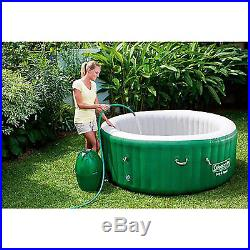 Inflatable Hot Tub Portable Massage Jet Spa Heated 4-6 Person Jacuzzi Outdoor