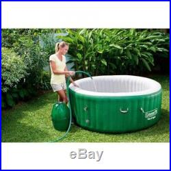 Inflatable Hot Tub Portable Massage Jet Spa Heated Jacuzzi 6 Person Outdoor New