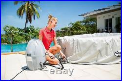 Inflatable Hot Tub Portable Spa 4-6 Person Color Changing LED Lighted Jacuzzi