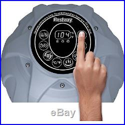 Inflatable Hot Tub Spa 4 Person Jacuzzi Portable Relaxing Heated Bath Massager