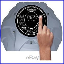 Inflatable Hot Tub Spa MAX-5 AirJet 4Per Portable Water Filtration LED Display