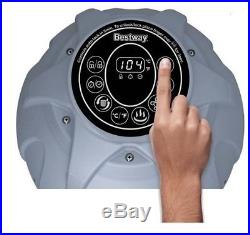 Inflatable Hot Tub Spa MAX-5 AirJet 4-Person Portable Patio Garden LED Display