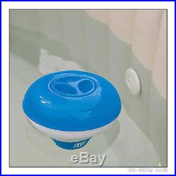 Inflatable Hot Water Bubble Therapy 4-Person Portable Heated Hot Tub Jacuzzi Spa