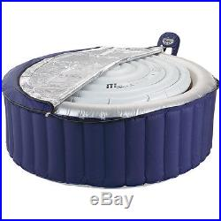 Inflatable Outdoor Spa Jets Portable Heated Massage Hot Tub Jacuzzi 4 Person NEW
