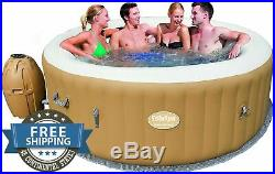 Inflatable Portable Spa Hot Tub Jacuzzi Airjet 6 Person Easy Pump Relax Backyard